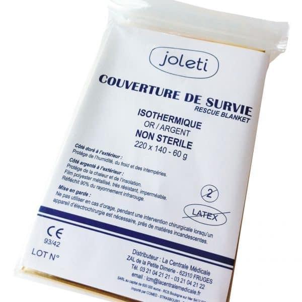 Couverture-survie-isothermique