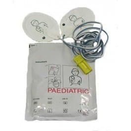 Electrodes pédiatriques pour Défibrillateur FRED Easyport Schiller