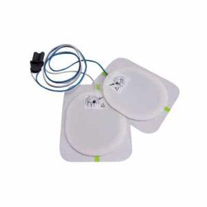 Electrodes pédiatriques pré-connectées pour DAE Saver One