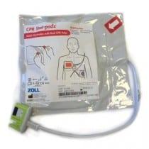 Electrodes pour défibrillateur Zoll CPR Stat-Padz électrodes