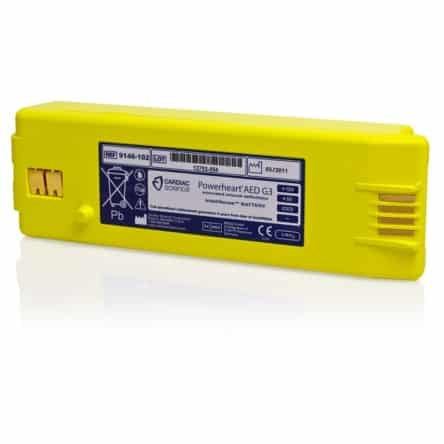 Batterie défibrillateur Cardiac Science Powerheart G3