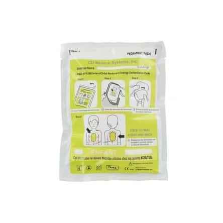 Electrodes pédiatriques CU Medical Colson I-PAD 1200