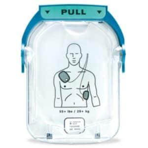 Electrodes adulte pour défibrillateur Philips Heartstart HS1