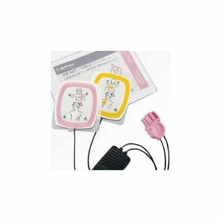 Electrodes pédiatriques pour défibrillateur Physio Control Lifepak