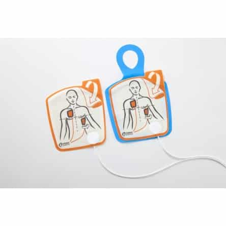 Electrodes défibrillateur Cardiac Science Powerheart G5