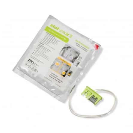 Electrodes adulte pour défibrillateur ZOLL AED Plus