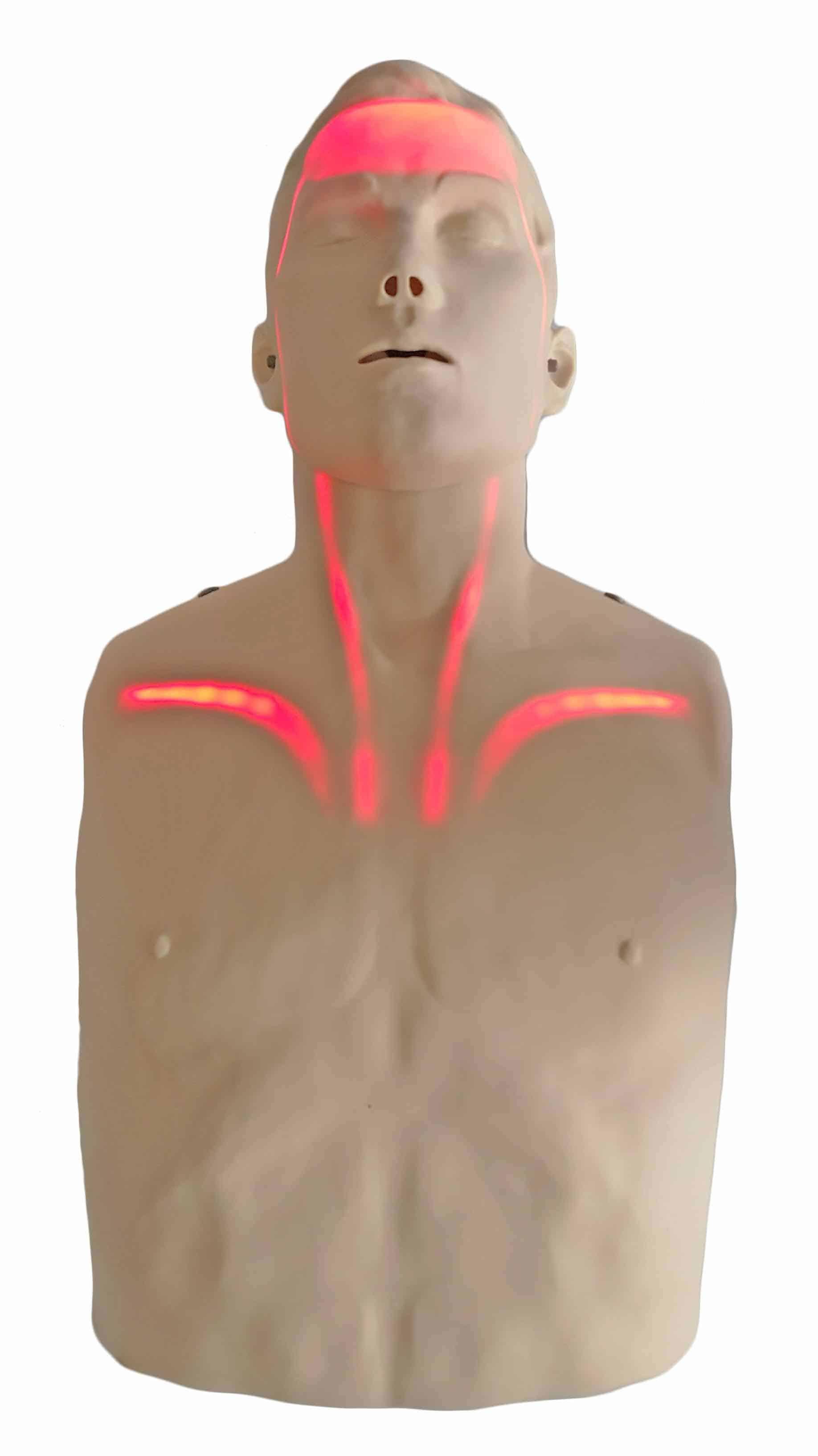 Mannequin Brayden Gaspard lumière rouge