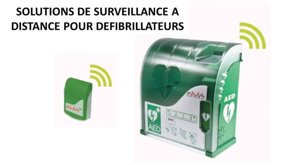 Surveillance à distance de défibrillateur