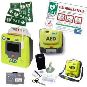 pack-defibrillateur-zoll-aed3-support