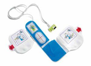 Electrodes CPR-D pour défibrillateur ZOLL AED Plus