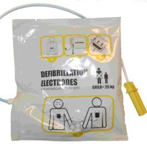 Electrodes pédiatriques défibrillateur Skity