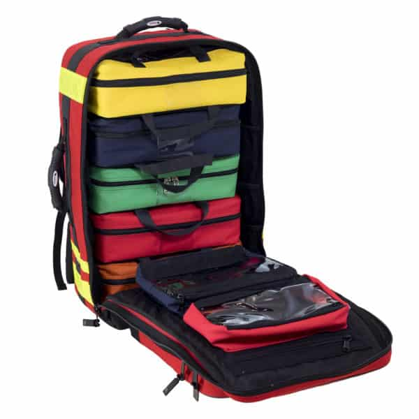 stream sac medical bagheera rouge ouvert