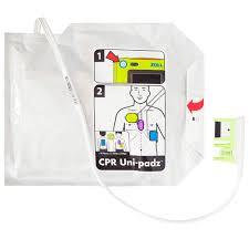 Electrodes Unipadz pour défibrillateur Zoll AED 3