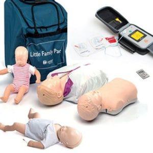 pack-mannequins-et-defibrillateur-de-formation
