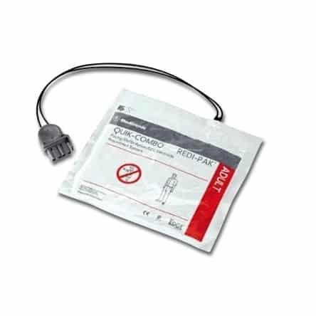 Electrodes défibrillateur Lifepak 1000