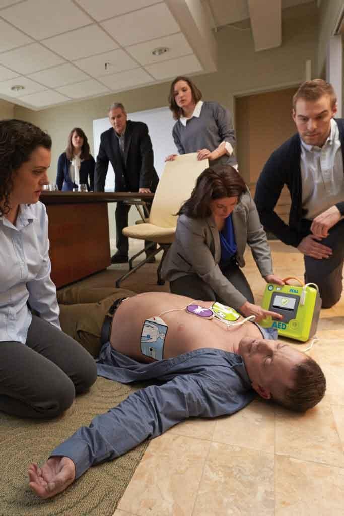 ZOLL AED3 délivrance choc