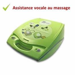 défibrillateur zoll aed plus assistance massage