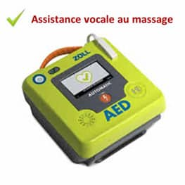 defibrillateur zoll aed3 assistance massage