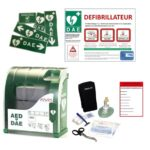 Défibrillateur : pack avec armoire Aivia 200