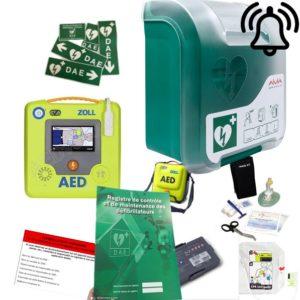 Pack défibrillateur Zoll AED 3 avec Aivia In avec alarme