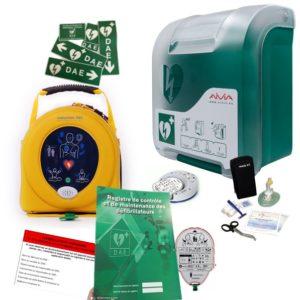 Pack défibrillateur Heartsine 350P avec Aivia In
