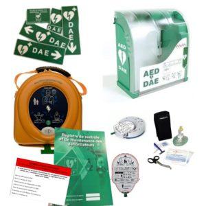 Pack défibrillateur Heartsine 360P avec Aivia 200