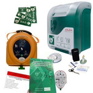 Pack défibrillateur Heartsine 360P avec Aivia In