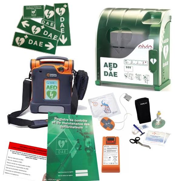 Pack défibrillateur Cardiac Science G5 avec Aivia 100