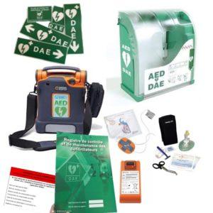 Pack défibrillateur Cardiac Science G5 avec Aivia 200