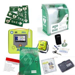 Pack défibrillateur Zoll AED 3 avec Aivia 200