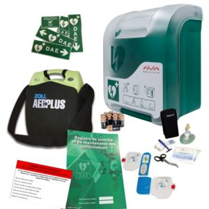 Pack défibrillateur Zoll AED Plus avec Aivia In